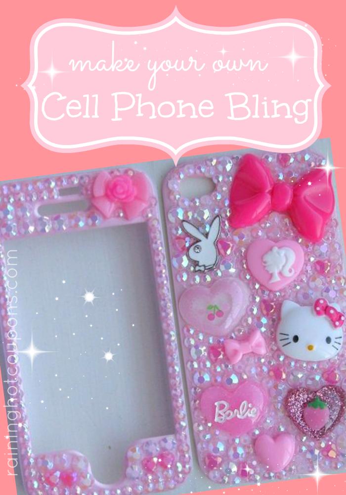 cell phone bling