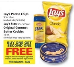 *HOT* $2/1 Lays Potato Chips Rite Aid Coupon = Only $1.15 a Large Bag (Reg. $4.29)