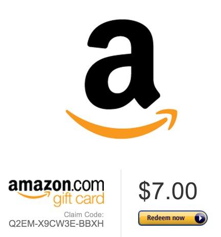 amazon gift card redeem