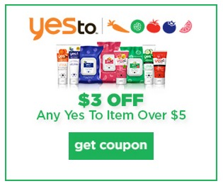 coupons for yes to carrots products
