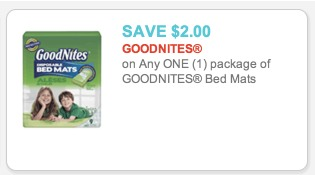 *HOT* FREE Goodnights Bed Mats + $0.53 Moneymaker at Walmart!