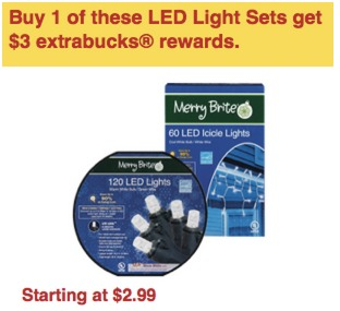 CVS: FREE LED Christmas Lights!