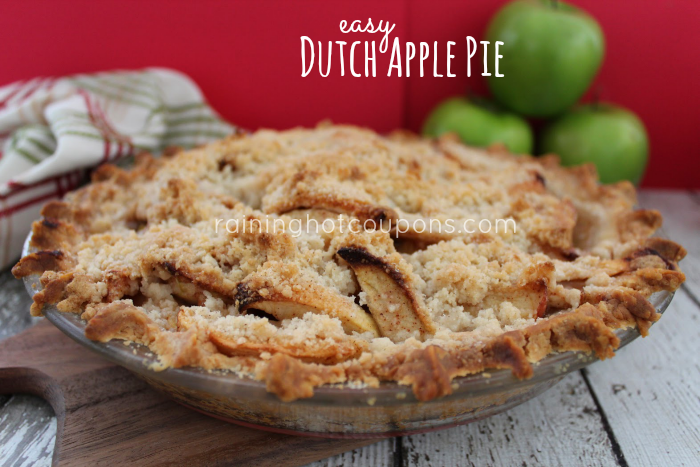 Easy Dutch Apple Pie