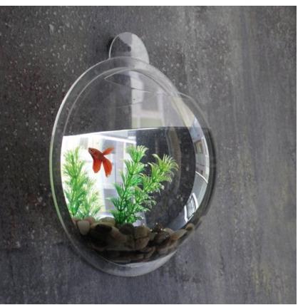 Amazon: Wall mount Fish Bubble Tank Only $14.18 (Reg. $39.99)