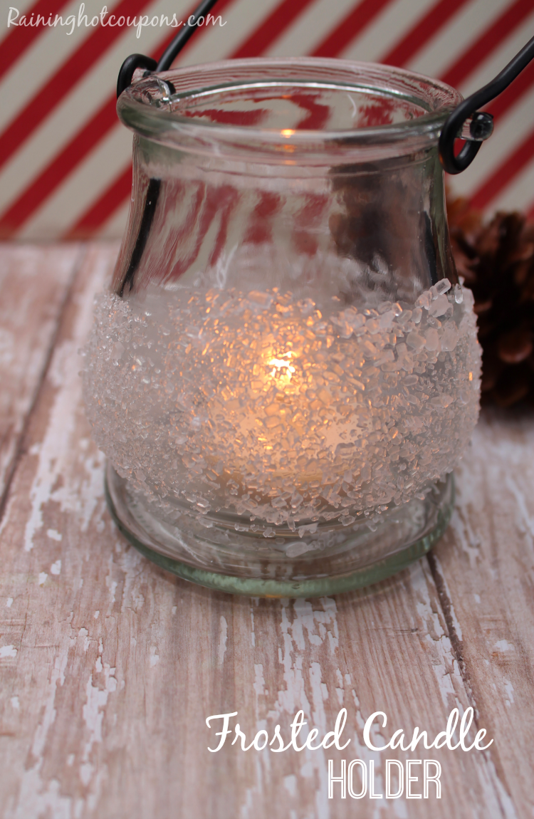frosted candle 2
