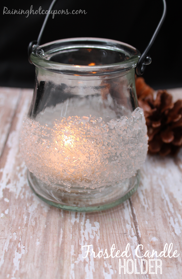 frosted candle 3