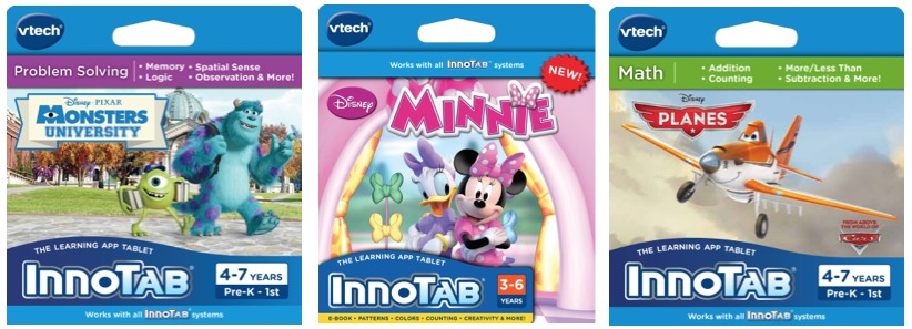 InnoTab Software, Dora The Explorer, Dora the Explorer kids software features 3 interactive learning games that teach logic, Spanish, and matching By VTech Add To Cart There is a problem adding to cart.
