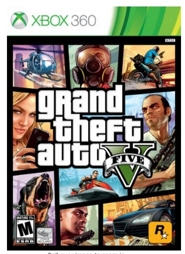 Amazon: Grand Theft Auto V Five ONLY $24.99 (REG. $60!)   Xbox360