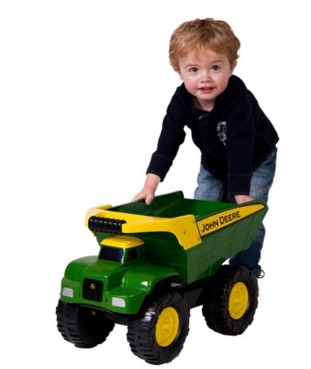 *HOT* John Deere 21 Big Scoop Dump Truck Only $25.99 (Reg. $64.99)!