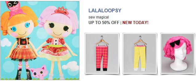 lalaloopsy Lalaloopsy Sale   Items Up to 50% Off!