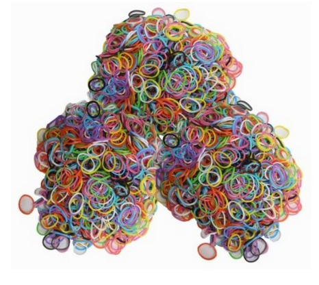 *HOT* 1800 Loom Bands and 85 C & S Clips ONLY $5.98 + FREE Shipping!
