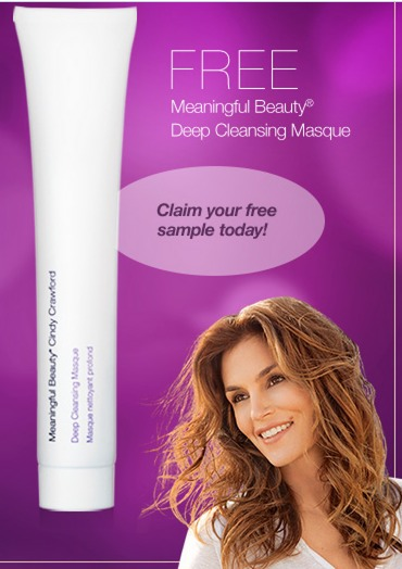 *HOT* FREE Full Size Meaningful Beauty Deep Cleansing Masque!