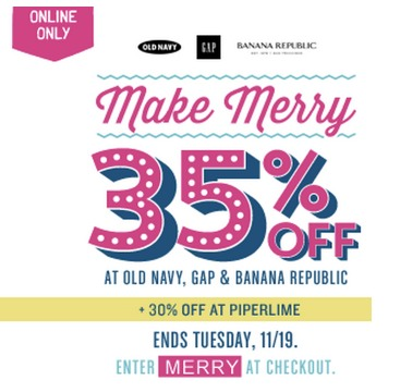 Old Navy has offered a sitewide coupon (good for all transactions) for 29 of the last 30 days. We are coupon experts and have been in the business since and the best coupon we have seen at metrdisk.cf lately was for 50% off and was available in October of