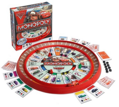 Amazon: Monopoly Cars 2 Race Track Game Only $12.90 (Reg. $24.99)!