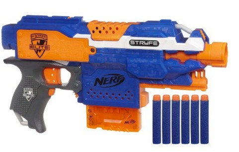 If you are looking for some toys for boys then you may want to act fast on  this next Amazon deal! You can get this Nerf N-Strike Elite: Stryfe Blaster  for ...
