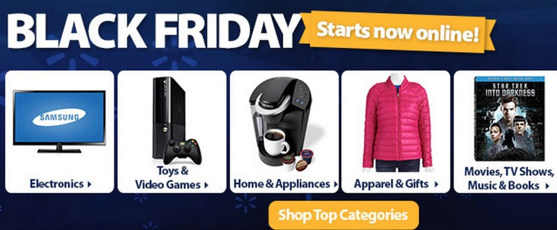 Walmart.com Black Friday Deals ONLINE are LIVE!!