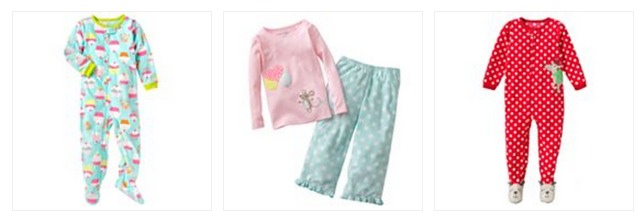 Carters Pajamas Only $5.12 + FREE Shipping (REG. $20!)