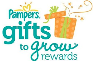 pampers 20 FREE Pampers Gifts to Grow Points + 100 Points for New Members