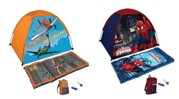 tent. pla  sc 1 st  Raining Hot Coupons & Disney Princess Planes or Spiderman 5-pc. Camping Kit Only $21.24 ...