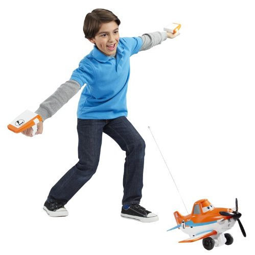 plane Amazon: Disney Planes Wing Control Dusty Crophopper Radio Control Plane $16.76 (Reg. $40!)