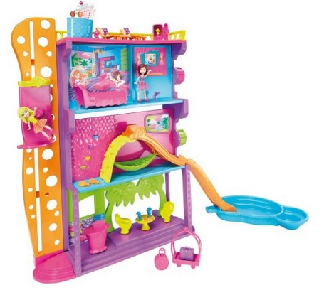 Amazon: Polly Pocket Spin N Surprise Hotel Playset Only $25.29 (Reg. $49.99)