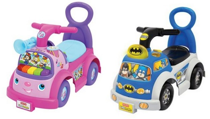 Fisher Price Batman Toys : Fisher price little people ride on toys batman and pink