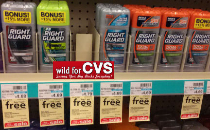 right guard Right Guard Deodorant Only $0.85 at CVS!