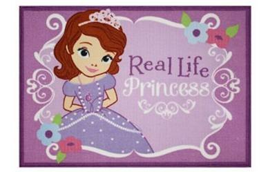 Hot Disney Real Life Princess Sofia Rug Only 16 Reg 40