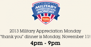 "screen shot 2013 11 05 at 4 32 49 pm 300x155 Golden Corral: FREE ""Thank You"" Meal on November 11th (Veterans & Active Duty Military Only)"