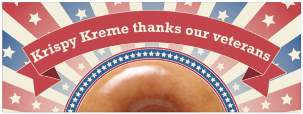 screen shot 2013 11 05 at 6 44 46 pm Krispy Kreme: FREE Doughnut and Coffee for Veterans on November 11!