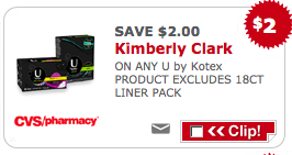 screen shot 2013 11 20 at 10 32 00 am CVS: Better Than FREE U By Kotex Products (Thru 11/23)