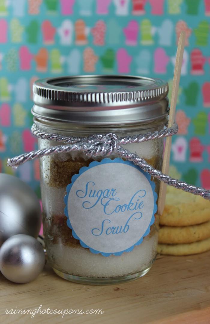 sugar cookie scrub