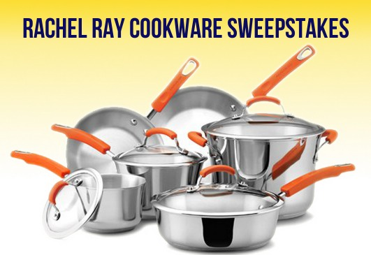 Enter to Win a Rachel Ray II 10 pc. Cookware Set!