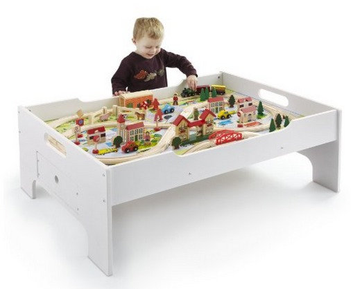 Amazon: 80Pc Deluxe Train Set and Table Only $64.99 Shipped (Reg. $120!)