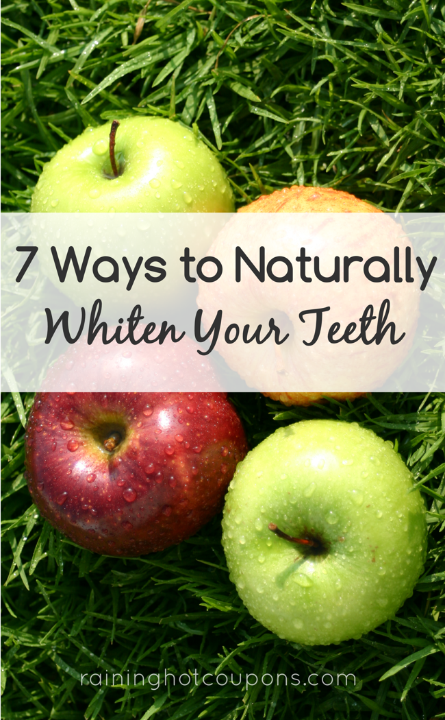 teeth 7 Ways To Naturally Whiten Your Teeth