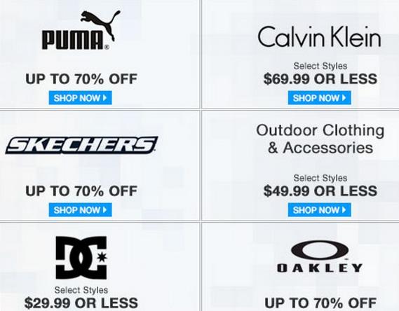 Huge 6pm.com Cyber Monday Sale \u003d Up to