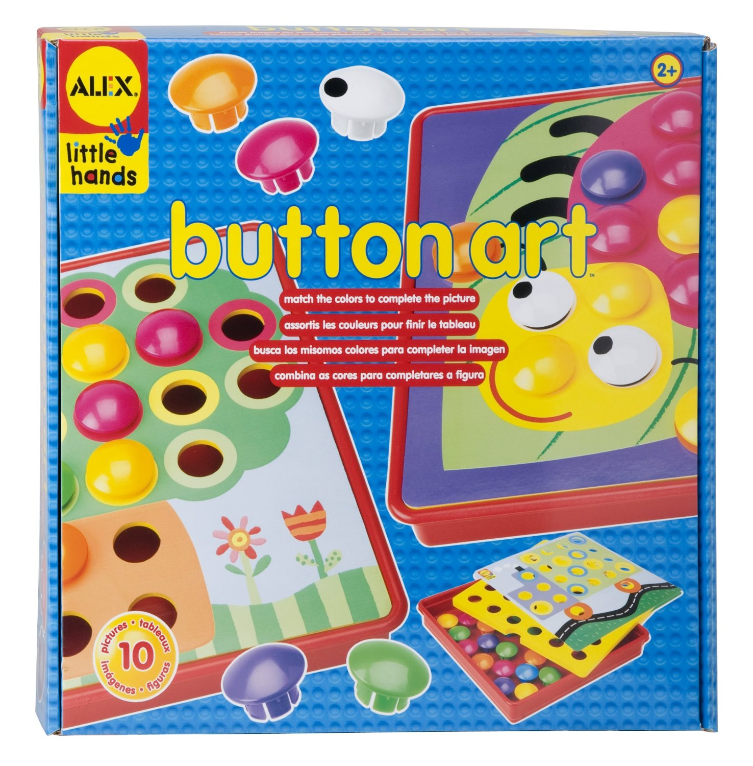 91r2Y+zX2XL. SL1500  *HOT* ALEX Little Hands Early Learning Button Art Only $8.80 (Reg. $22.00)!