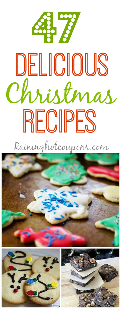 Christmas recipes 47 Delicious Christmas Recipes