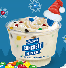 MMs Mini Concrete Mixer Culvers: FREE M&Ms Mini Concrete Mixer