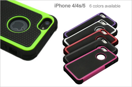 Save 460x305A 78901 *HOT* Armor Hybrid Shockproof Case for iPhone 4/4s/5 Only $5.00 (Reg. $39.99)!