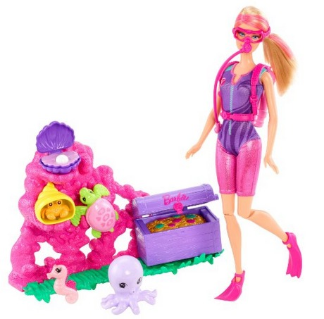 Amazon: Barbie I Can Be Ocean Treasure Explorer Doll Playset Only $13.49 Shipped (Reg. $27.99)!