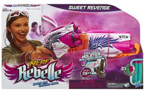 Nerf Rebelle Sweet Revenge Blaster Set Only $4.99 (Reg. $18.99)!
