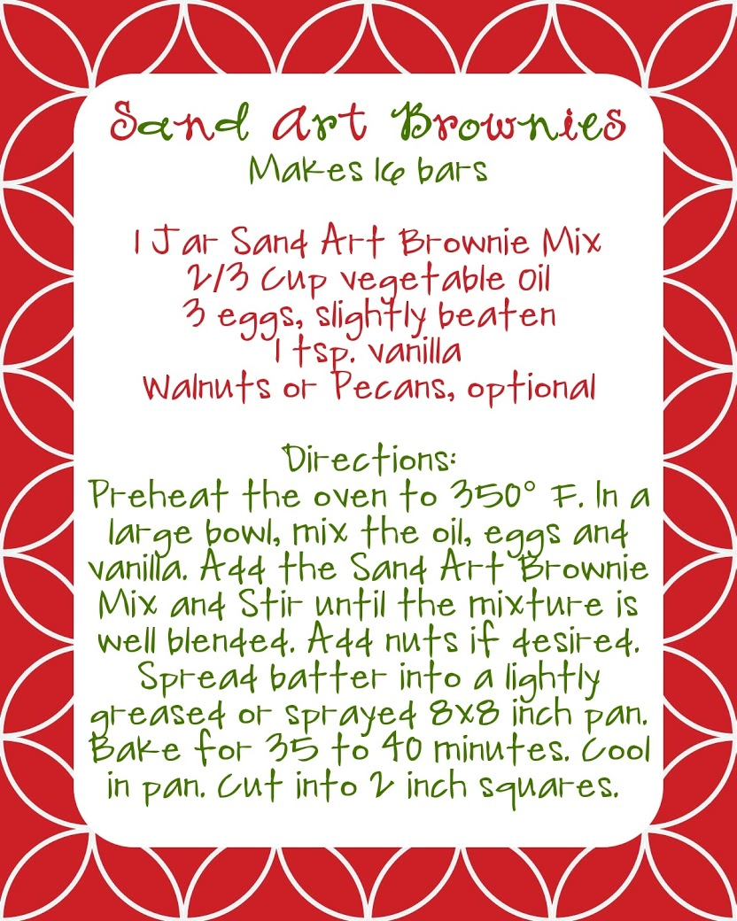 Brownie Mix Gifts + FREE Printable Label