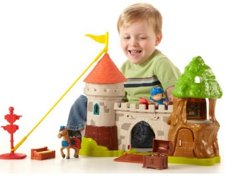 Amazon: Fisher Price Mike the Knight Glendragon Castle Playset $14.73 (Reg. $34.99)!