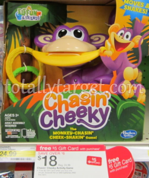 chasin cheeky Target: Chasin Cheeky Game Only $12.20 (Reg. $24.99)