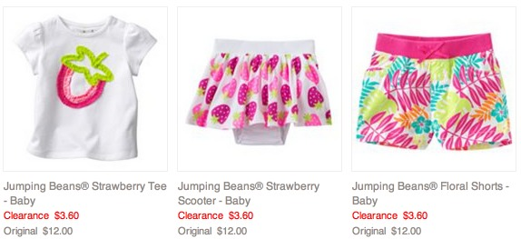 *HOT* Baby Girls and Boys Clothing Only $2.88 (Reg. $12+)!