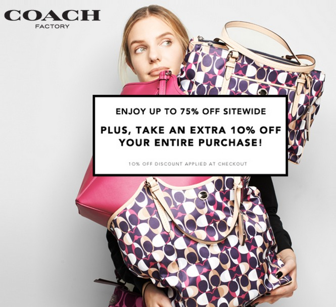 coach coupons 10