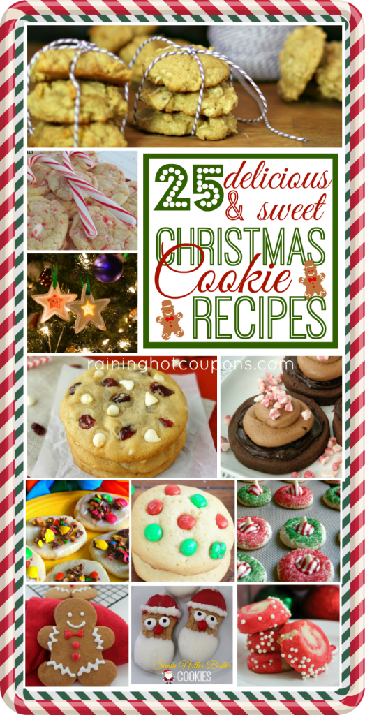 cookies 523x1024 25 Christmas Cookie Recipes