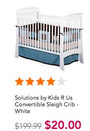 Toys R Us Clearance 90 Off Cribs Only 20 Reg 220