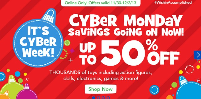 toys r us cyber monday sales are live. Black Bedroom Furniture Sets. Home Design Ideas